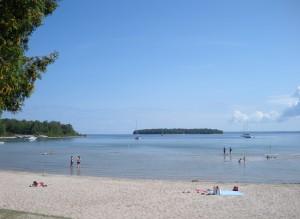 Peninsula State Park, Nicolet Beach