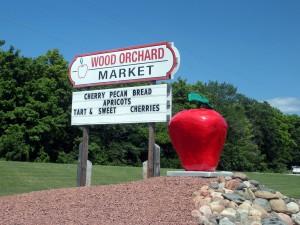 Wood Market Sign